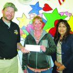 Elks Little League donation