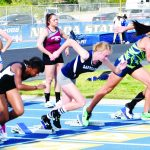Track team in top place in state