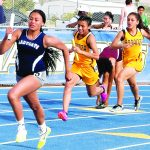 Rick paces Ladycats track with four wins