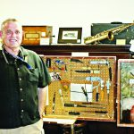 Warden Filson makes museum  donation on behalf of Ely State Prison
