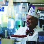 Dan Braddock retires from the McGill Drug Store