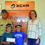 Robinson Donation