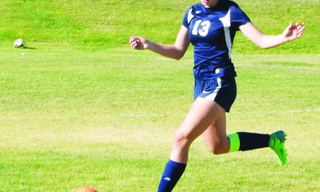 Prengel scores hat trick  for Ladycat soccer