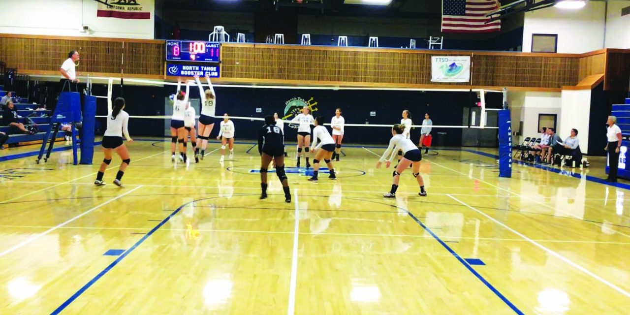 Ladycats split matches near Lake Tahoe
