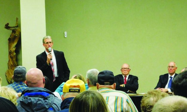 Candidates get chance to answer questions