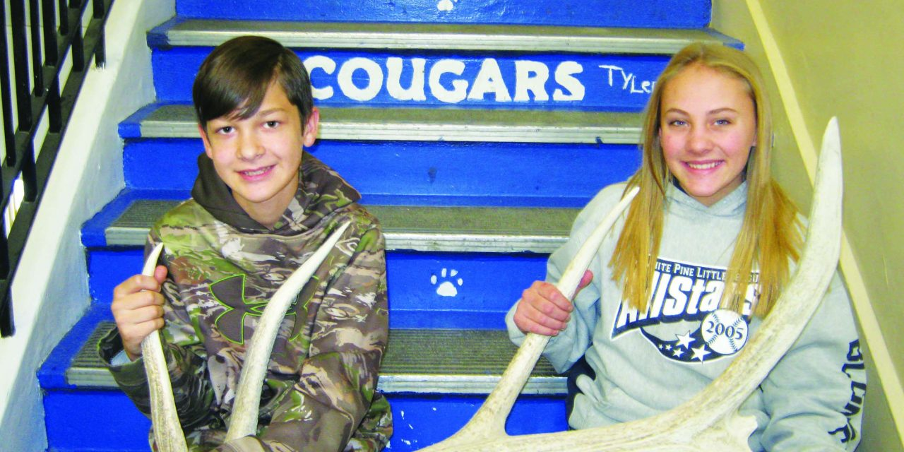 Fuller and Moore September Junior Elks Students of the Month