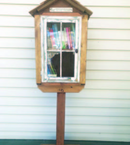 KayLynn Roberts-McMurray  The LIttle Free Library has opened at 1095 Aultman St. in downtown Ely