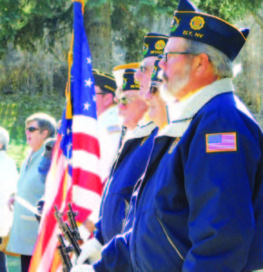 KayLynn Roberts-McMurray  A Veteran's Day celebration took place in front of the White Pine County Courthouse.