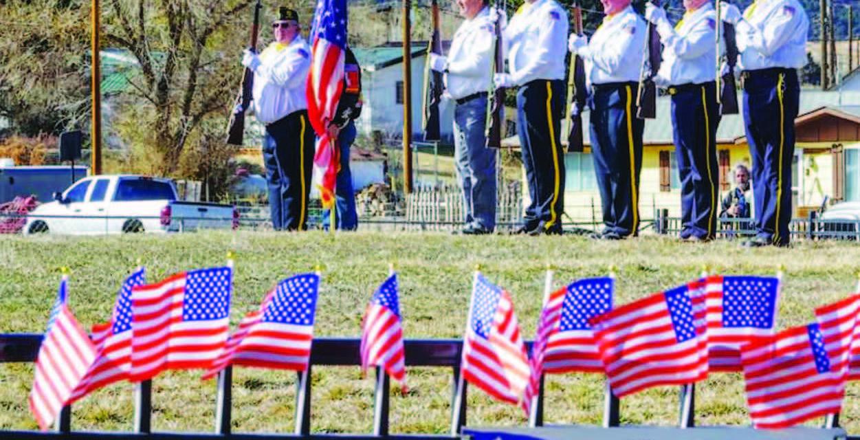 Celebrating Veterans Day in White Pine County