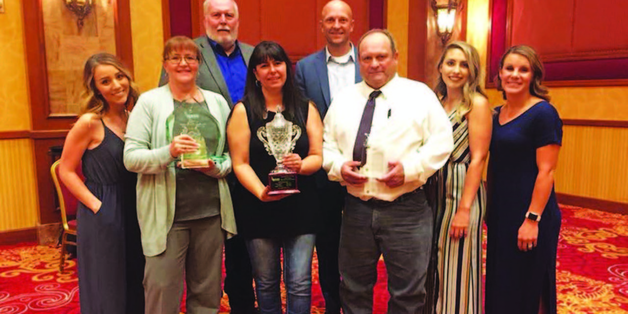 District, trustees honored by national association