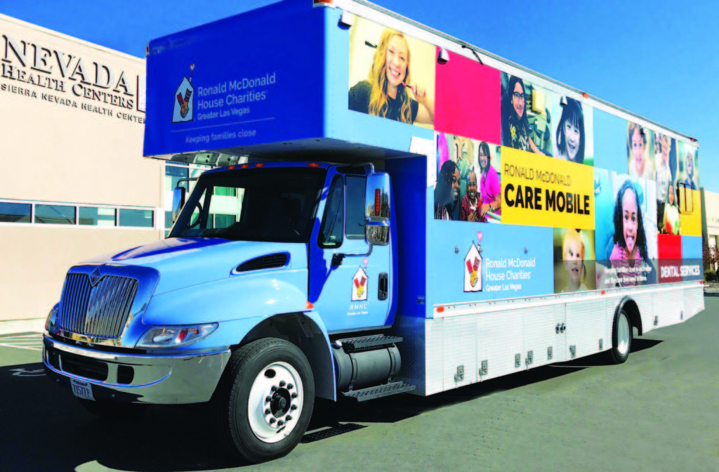 Submitted photo The Ronald McDonald Care Mobile will make a stop in Ely from Dec. 11-13.