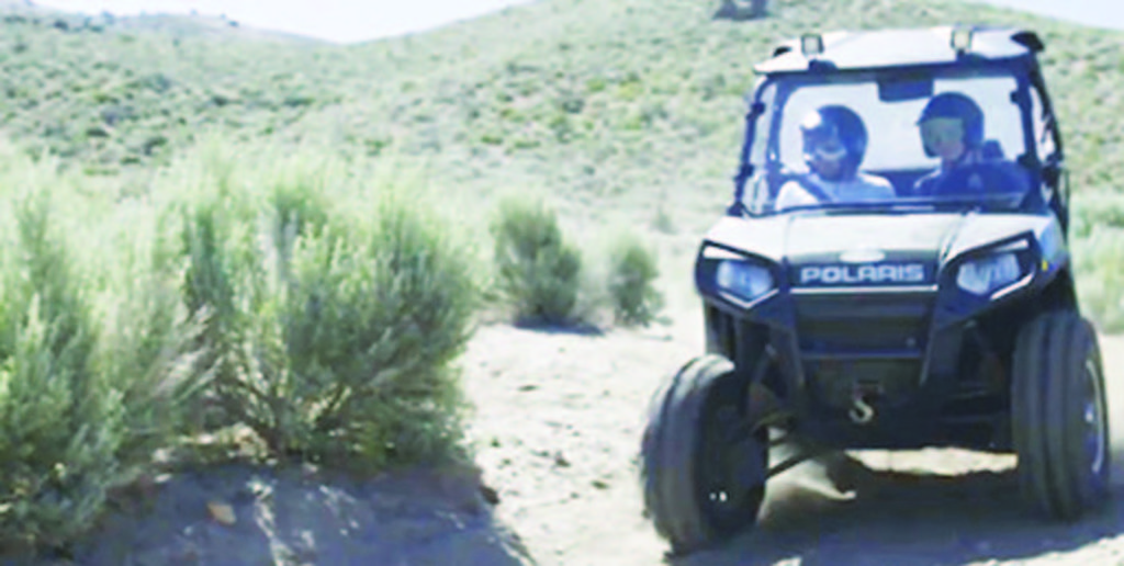 Two alternatives are being considered by the BLM for a potential trail system.        Submitted photo