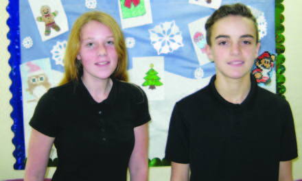 Elks: December students of the month