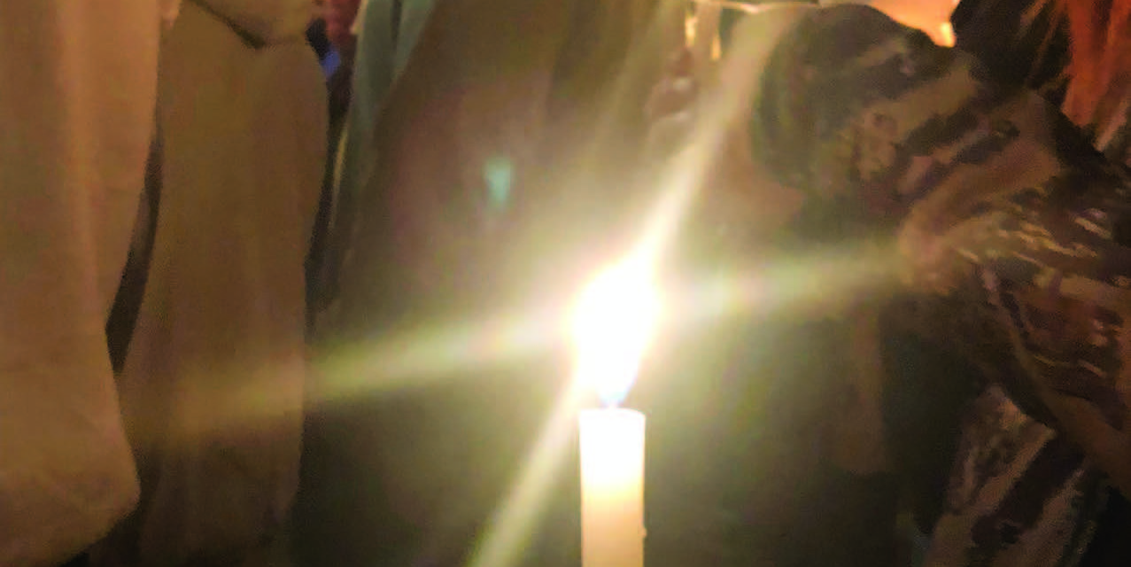 Vigil held for toddler while case investigated
