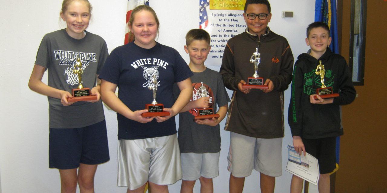 Hoop Shoot winners announced