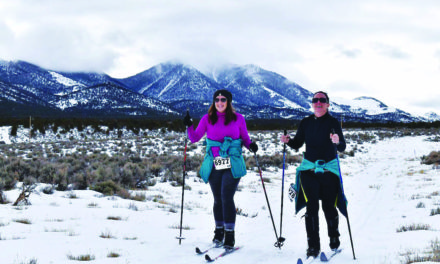 Nevada's only cross country ski race