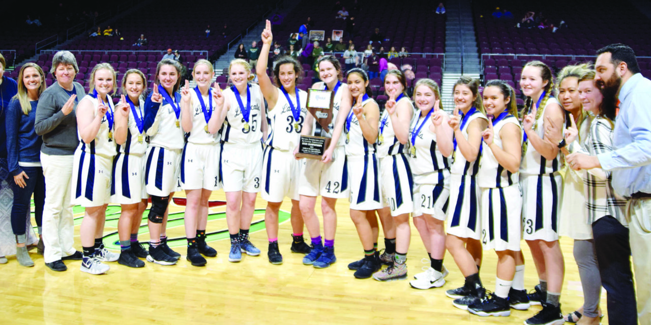 Ladycats win second straight title