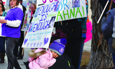 Friends, family join in support of Alyahna