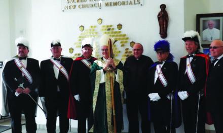 Reverend Bishop Thomas visits Sacred Heart Parish