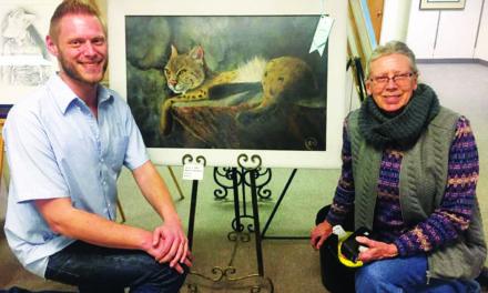Miller wins county art show