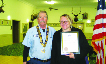 Baldwin named Elks Officer of the Year