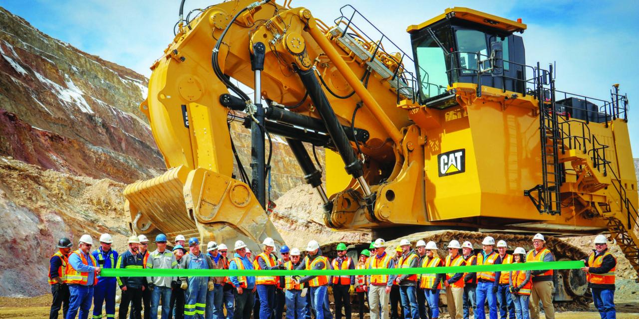 Robinson adds new hydraulic shovel