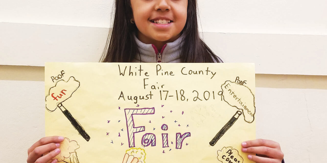 White Pine County Fair Poster Winners