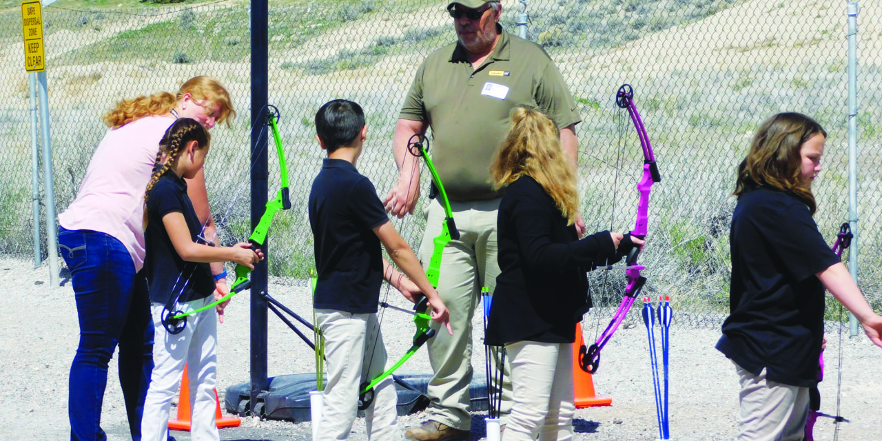 Charter school launches archery program