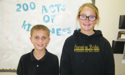 Lister and Mattinson May Students of the Month
