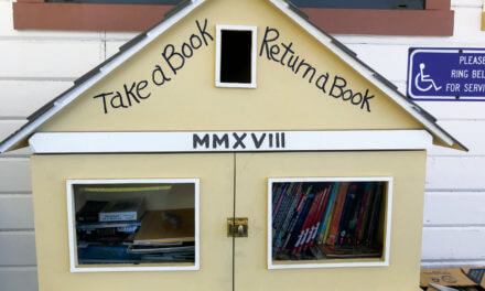 Take a book, return a book at McGill Cultural Center