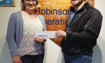 Robinson Mine donates to  basketball camp