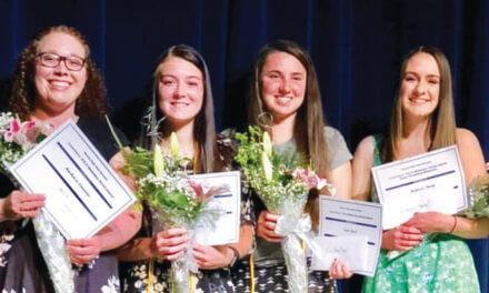 Four grads earn PEO scholarships