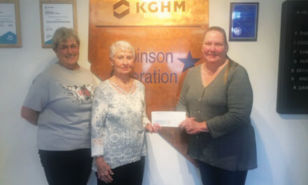 Robinson mine donates to ICS