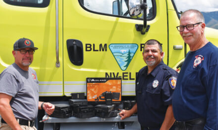 BLM Ely District transfers firefighting equipment to White Pine County