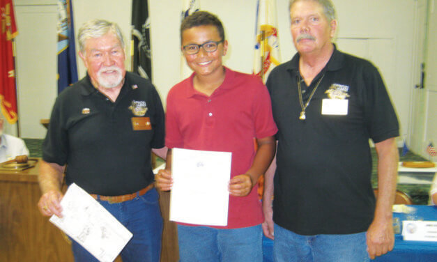 Snyder honored for Elks poster contest