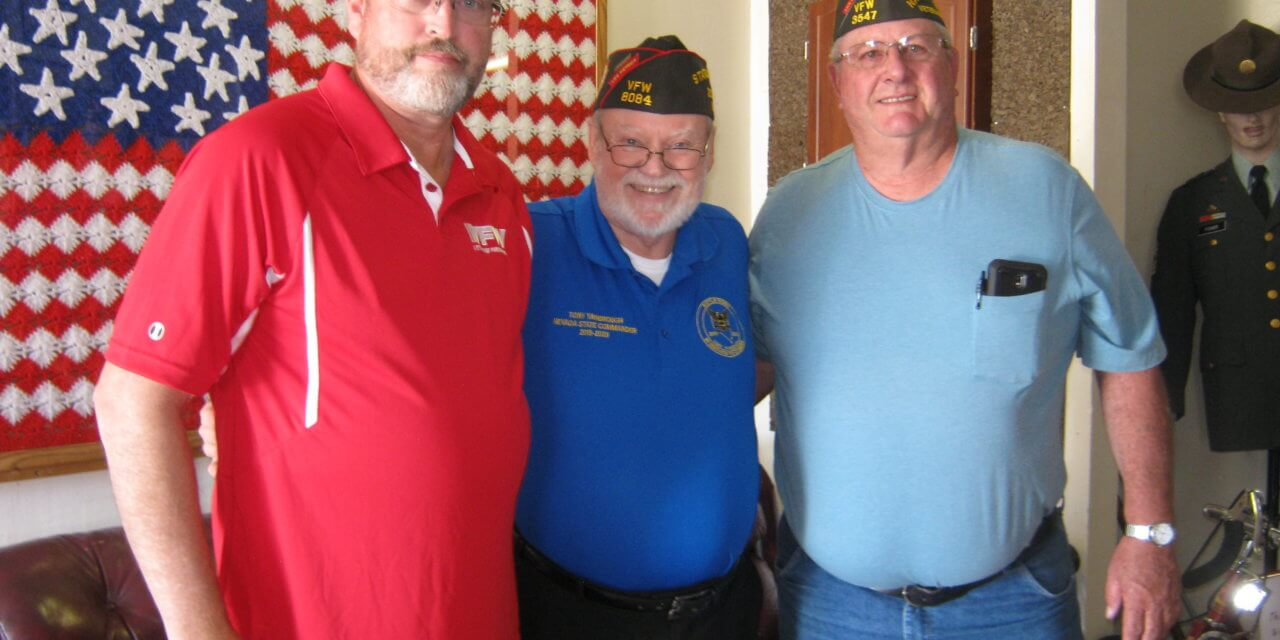 VFW State Commander visits Post 3547