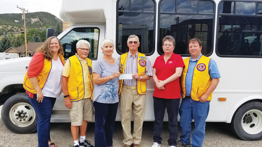Ely Lions Club Donation