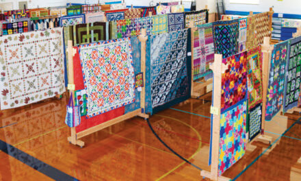 Quilters stitch together stunning art