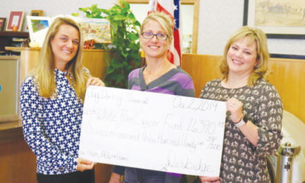 White Pine Cancer Fund  receives donation