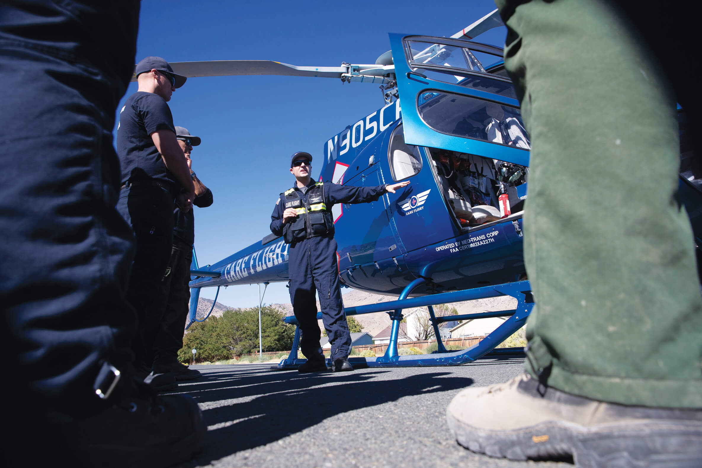 Air ambulance costs in rural areas becoming a matter of life