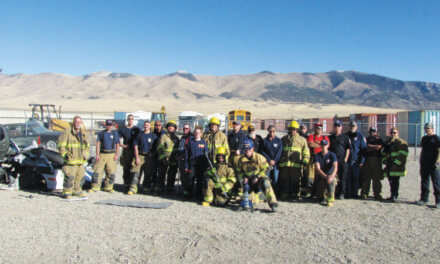 WPC fire departments train as a whole team