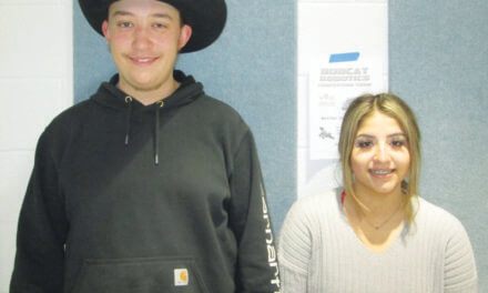 Purinton and Sandoval-Villarreal November Students of the month