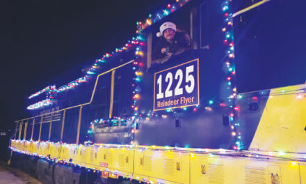 Santa's Reindeer Flyer running through Dec. 28