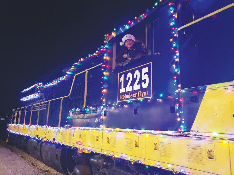 Santa's Reindeer Flyer running through Dec. 28