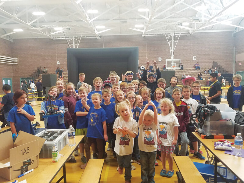 White Pine Robotics teams off to a great start