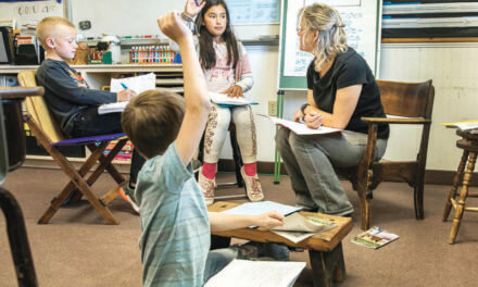 Shared classrooms, shared teacher a way of life in rural communities