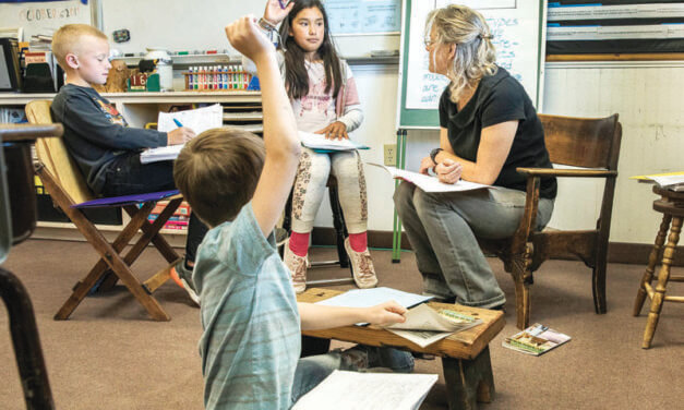 Shared classrooms, shared teacher a way of life in rural communities