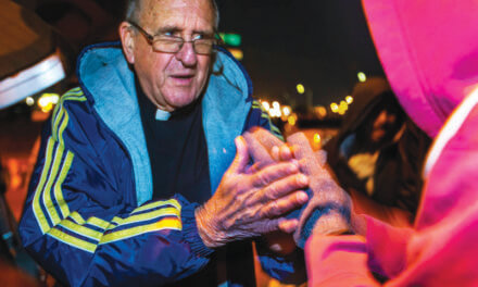 Former Ely priest works tirelessly for homeless