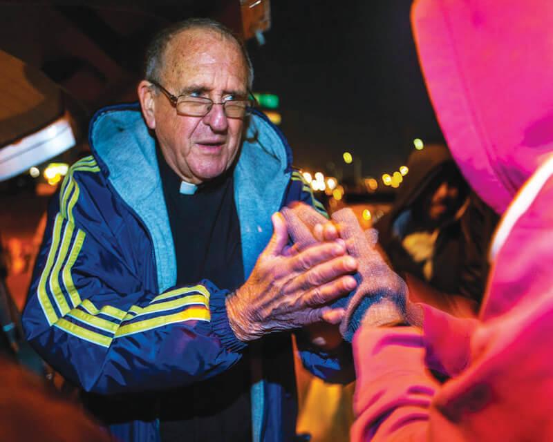 Former Ely priest works tirelessly for homeless