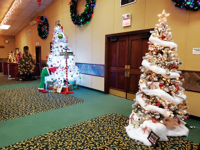 Holiday events under way
